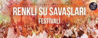 Renkli Su Savaşları Festivali afiş