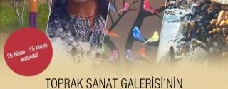 Toprak Sanat Galerisi'nin Sıradışı Dünyası afiş