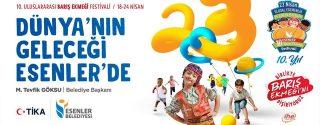 10.Uluslararası Barış Ekmeği Festivali afiş