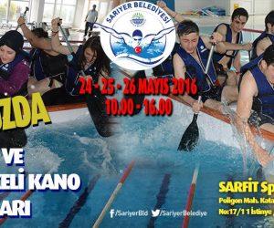 Havuzda Kano ve Yüzme Yarışı
