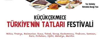 Küçükçekmece Türkiye'nin Tatlıları Festivali afiş