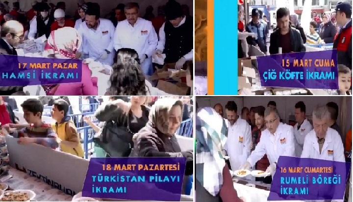 6.Zeytinburnu Radyo Festivali -Balık Ekmek – Çiğ Köfte Şöleni