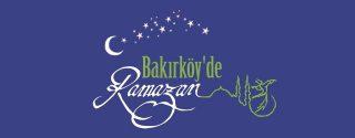 Bakırköy Belediyesi Ramazan Etkinlikleri afiş