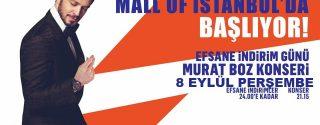 Murat Boz Mall Of İstanbul Konseri afiş