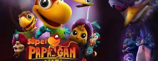 Süper Papağan Filmi afiş