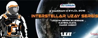 Interstellar Uzay Sergisi afiş