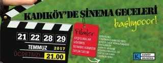 Kadıköy'de Sinema Geceleri afiş