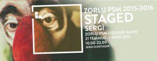 Zorlu PSM 2015-2016 Sergi Staged Sergi afiş