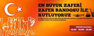 212 AVM Zafer Bayramı Etkinlik afiş