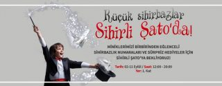 Küçük Sihirbazlar Sihirli Şato'da! afiş