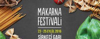 Makarna Festivali afiş