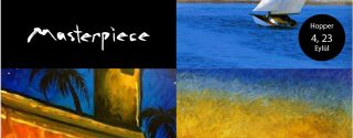 Masterpiece – Edward Hopper afiş