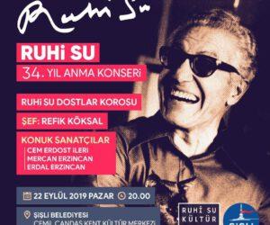 Ruhi Su 34.Yıl Anma Konseri
