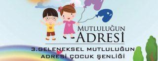 3.Geleneksel Çocuk Şenliği afiş