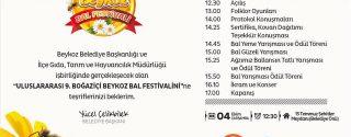9.Beykoz Bal Festivali afiş