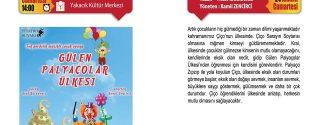Gülen Palyaçolar Ülkesi afiş