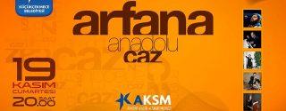 Arfana Anadolu Caz afiş