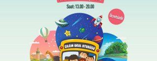 Çılgın Okul Otobüsü Axis İstanbul'da afiş