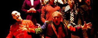Ben Eskiden Küçüktüm Tiyatro afiş