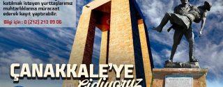 Şişli Belediyesi Çanakkale Gezisi afiş