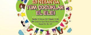 23 Nisan'da Tüm Çocuklar El Ele! afiş