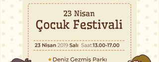 Ataşehir 23 Nisan Çocuk Festivali afiş