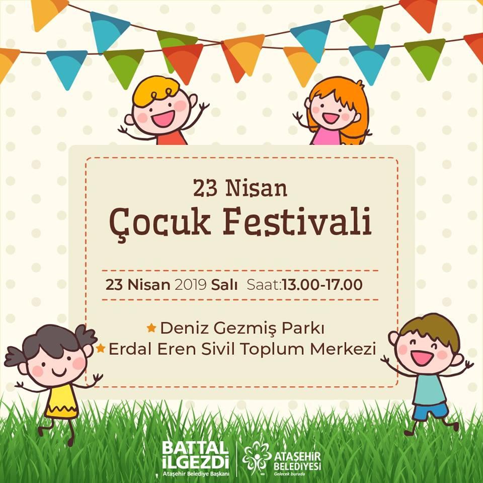 Ataşehir 23 Nisan Çocuk Festivali