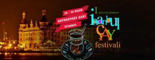 1.Uluslararası İstanbul Çay Festivali afiş