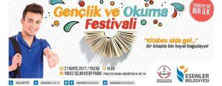 Gençlik ve Okuma Festivali afiş