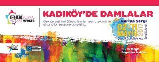 Kadıköy'de Damlalar Sergi afiş