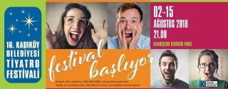 Kadıköy'de Tiyatro Festivali Başlıyor! afiş