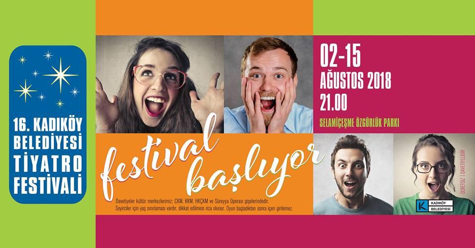 Kadıköy'de Tiyatro Festivali Başlıyor!