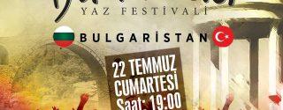 Beşçeşmeler Yaz Festivali afiş