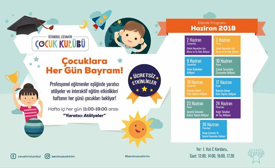 Cevahir'de Çocuklara Hergün Bayram