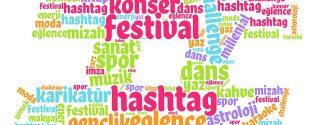 Hashtag Festival Alanı afiş