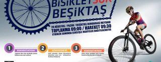 Bisiklet Sür Beşiktaş afiş