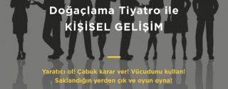 Doğaçlama Tiyatro Tekniği ile Kişisel Gelişim Atölyesi afiş