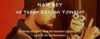 Naif Bey Doğaçlama Tiyatro afiş