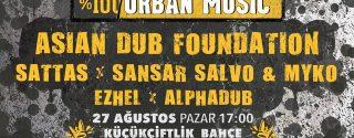 100% Urban Music Asian Dub Foundation afiş