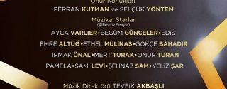 Broadway'den İstanbul'a Müzikaller afiş
