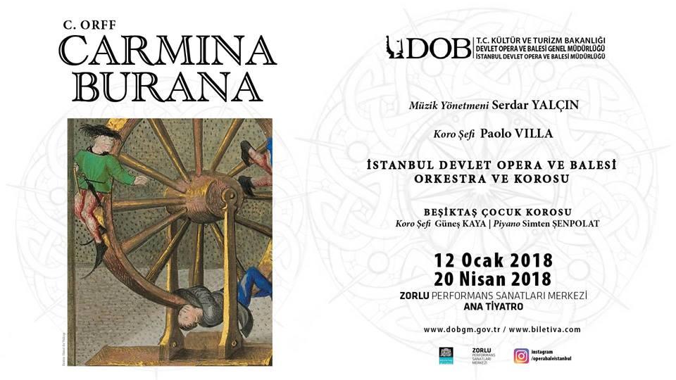 İstanbul Devlet Opera ve Balesi Carmina Burana