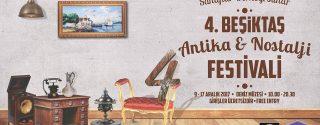 4.Beşiktaş Antika & Nostalji Festivali afiş