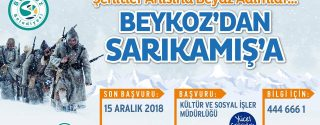 Beykoz'dan Sarıkamış'a afiş