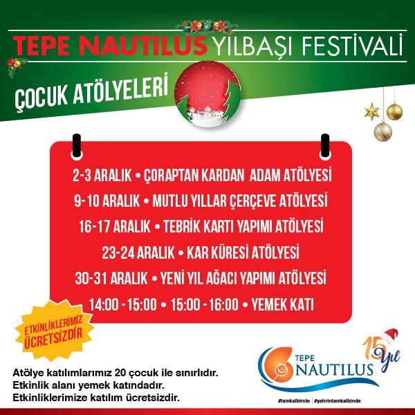 Tepe Nautilus Yılbaşı Festivali