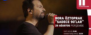 Bora Öztoprak Konseri afiş