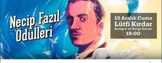 4.Necip Fazıl Ödülleri afiş