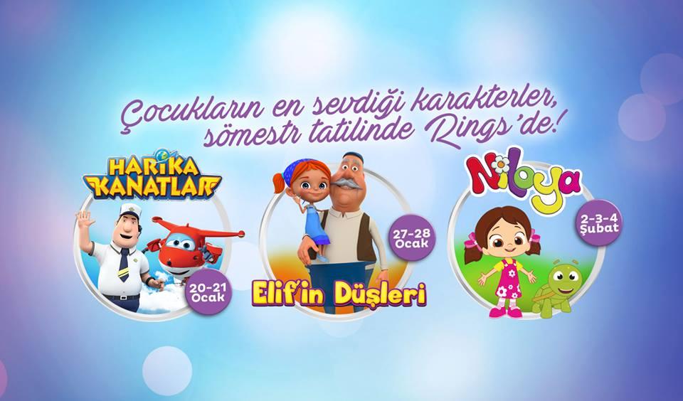 Çocukların En Sevdiği Karakterler Rings AVM'de!
