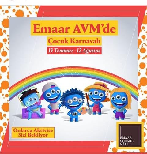 Emaar AVM'de Çocuk Karnavalı