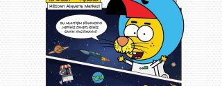 Uzay Macerası  Hilltown'da! afiş