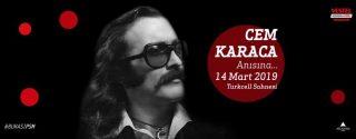 Cem Karaca Anısına – Evrencan Gündüz Konseri afiş